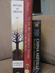 "Kristy G. Stewart's ""Currently Reading"" Stack"