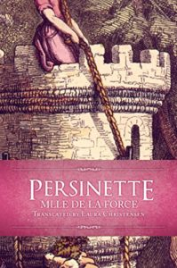 Cover for Persinette by Laura Christensen (a woman with long hair in a tower)