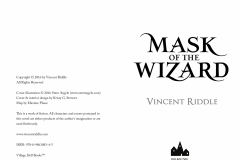 Mask of the Wizard, pages ii-iii