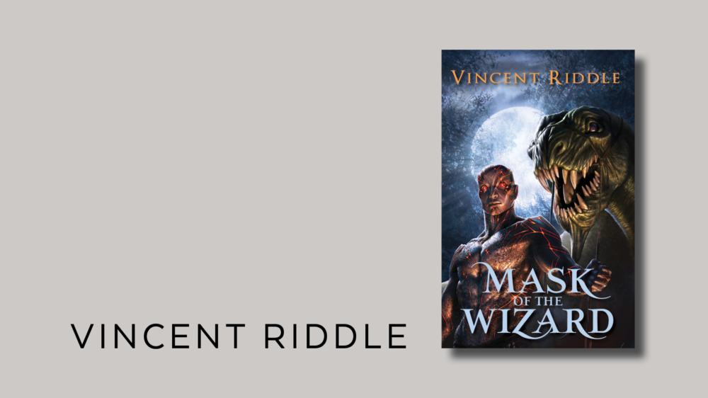 book cover design for fantasy-vincent-riddle