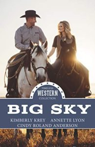 Cover for BIG SKY Western Romance Anthology from Mirror Press