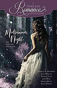 Cover for MIDSUMMER NIGHT Fantasy Romance Anthology by Mirror Press