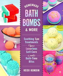 Cover for BATH BOMBS & MORE by Heidi Kundin