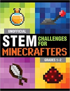 Book cover for UNOFFICIAL STEM CHALLENGES FOR MINECRAFTERS