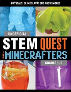Title for UNOFFICIAL STEM QUEST FOR MINECRAFTERS: GRADES 1-2