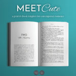 Meet Cute, a print and ebook template for contemporary romance