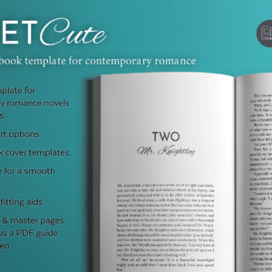 Meet Cute, a romance book design template