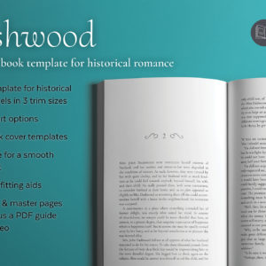 Dashwood, a romance book design template