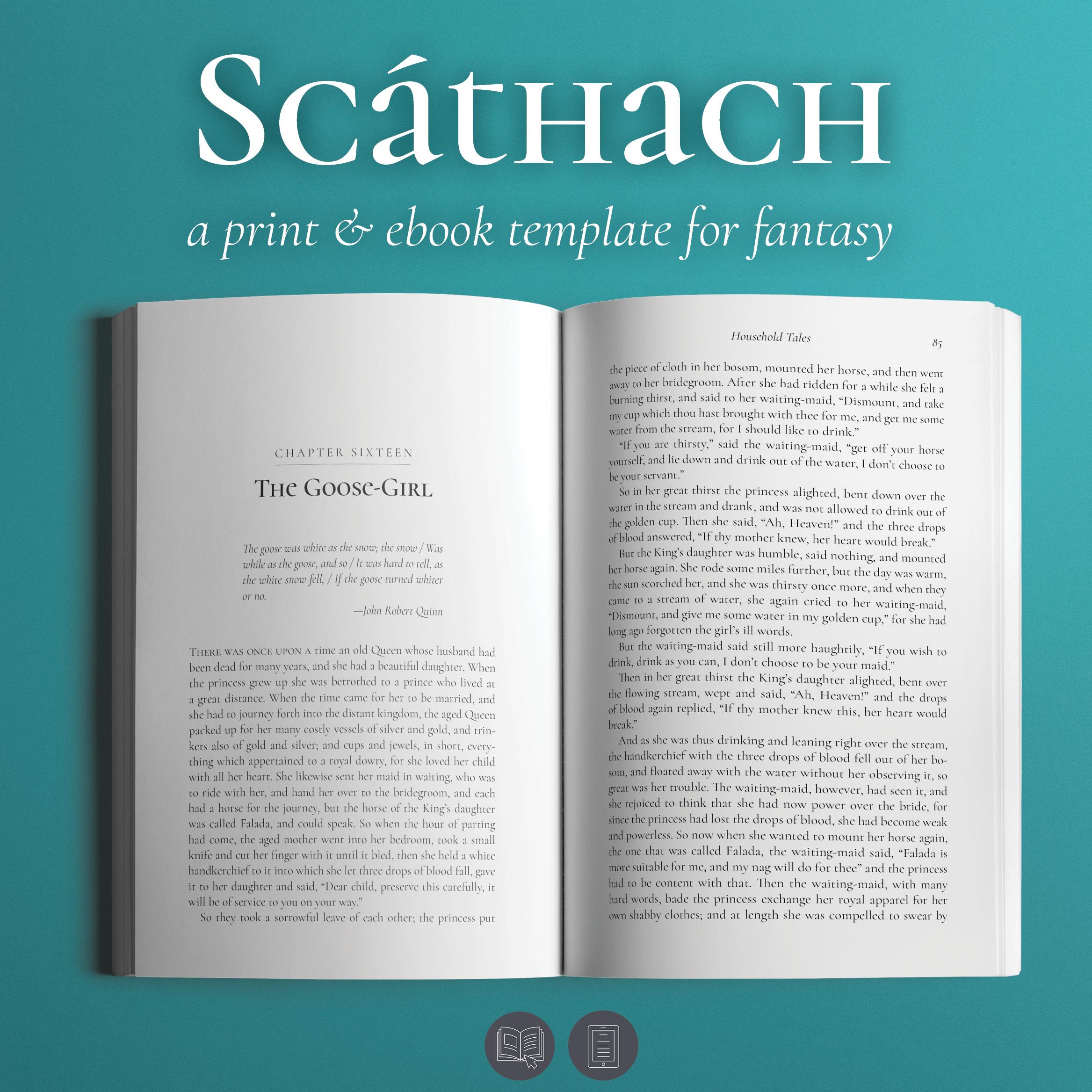 Scathach Fantasy Book Design Template Looseleaf E P,Front Yard Garden Design Ideas With Pebbles