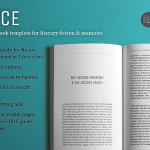 Joyce, a literary book design template