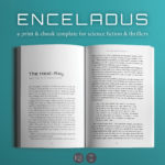 Enceladus, a print & ebook template for science ficiton and thrillers